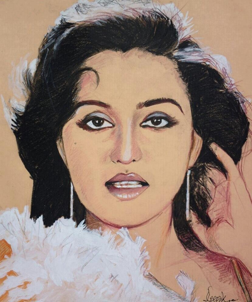 Reena Roy by CHHAYANKANArts